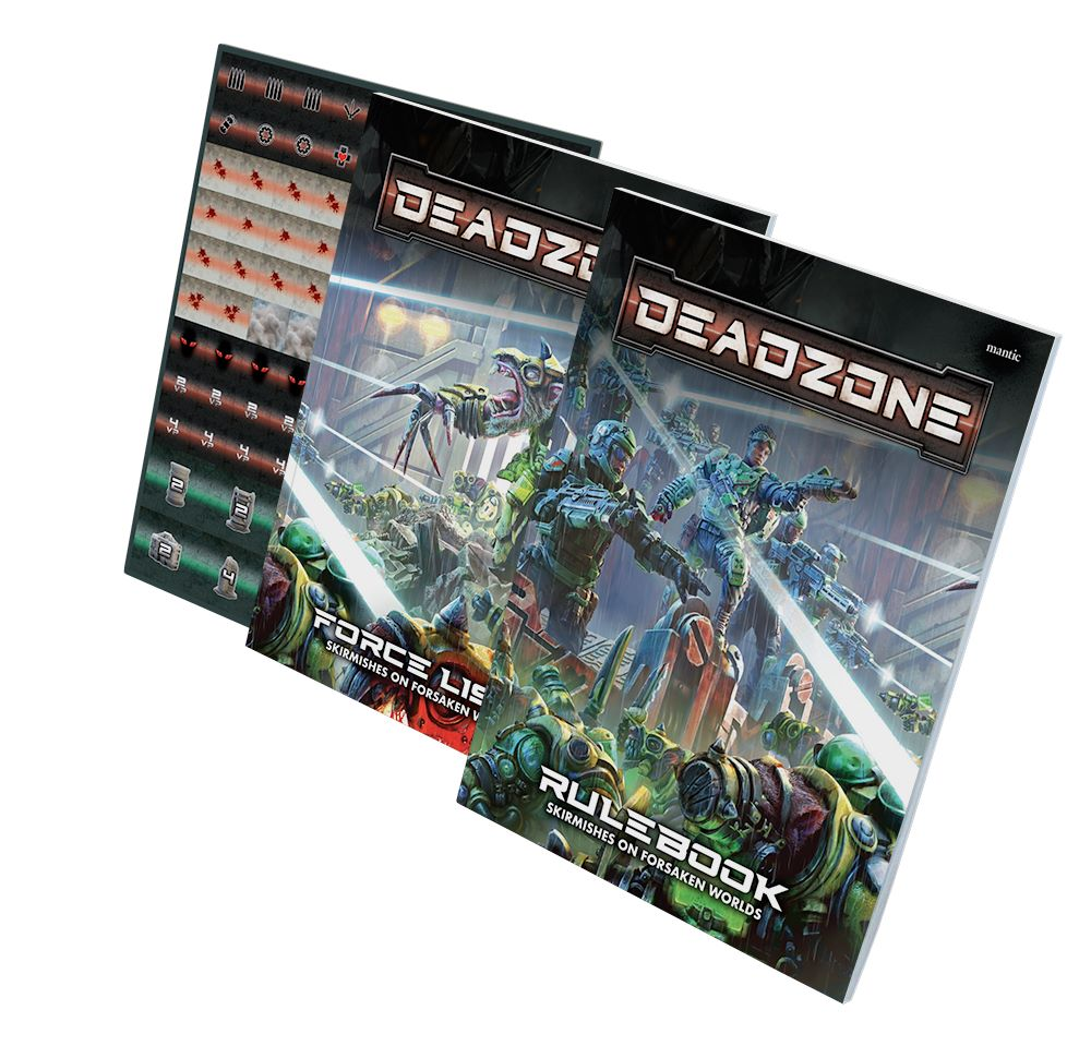 Deadzone Rulebooks & Counters - Mantic Games
