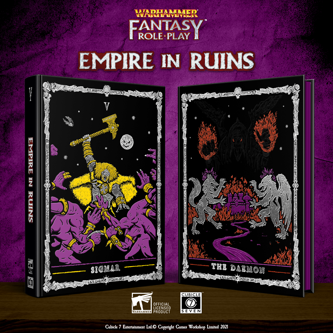 Empire In Ruins Collectors Edition - Warhammer Fantasy Role-Play
