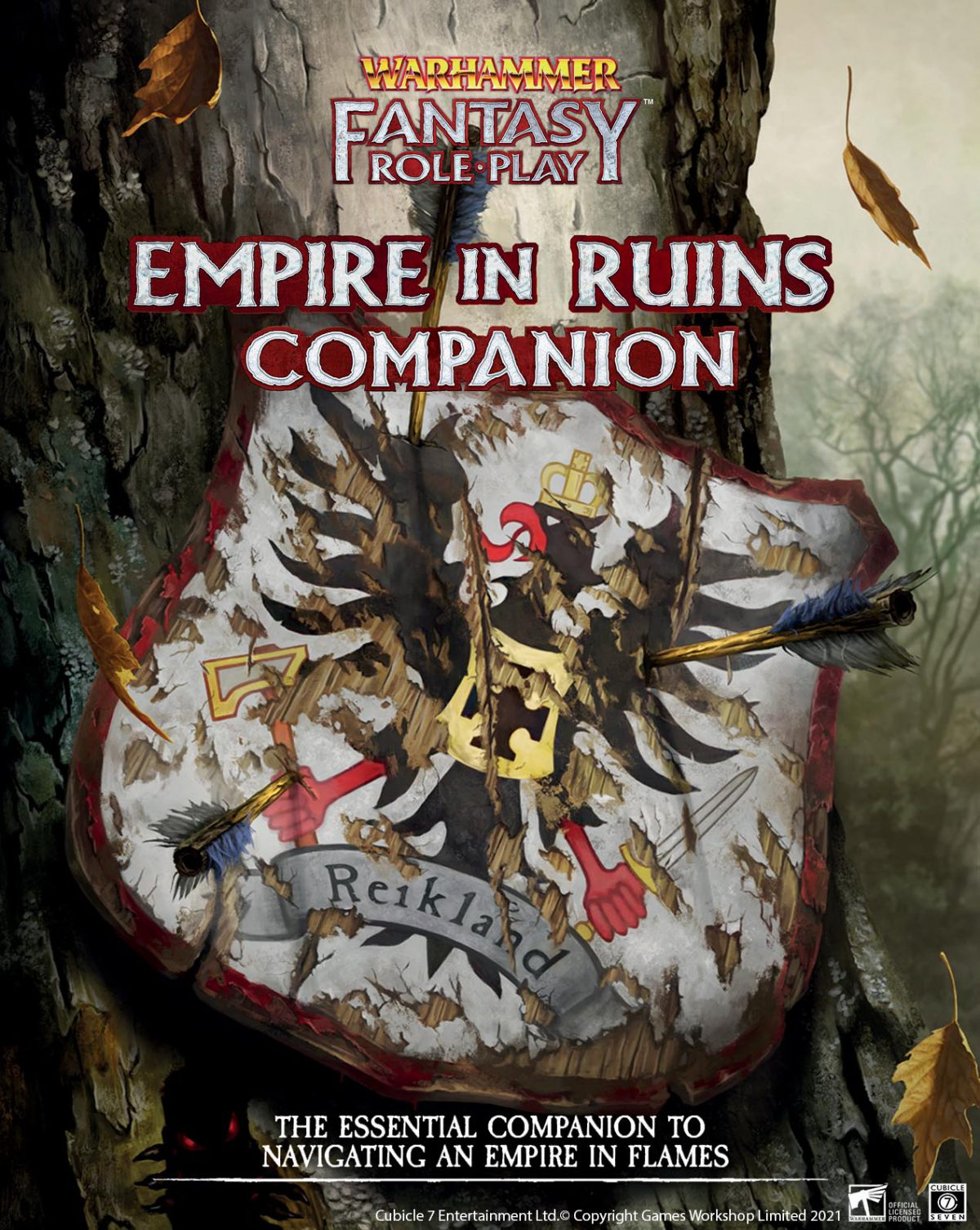 Empire In Ruins Companion - Warhammer Fantasy Role-Play NEW