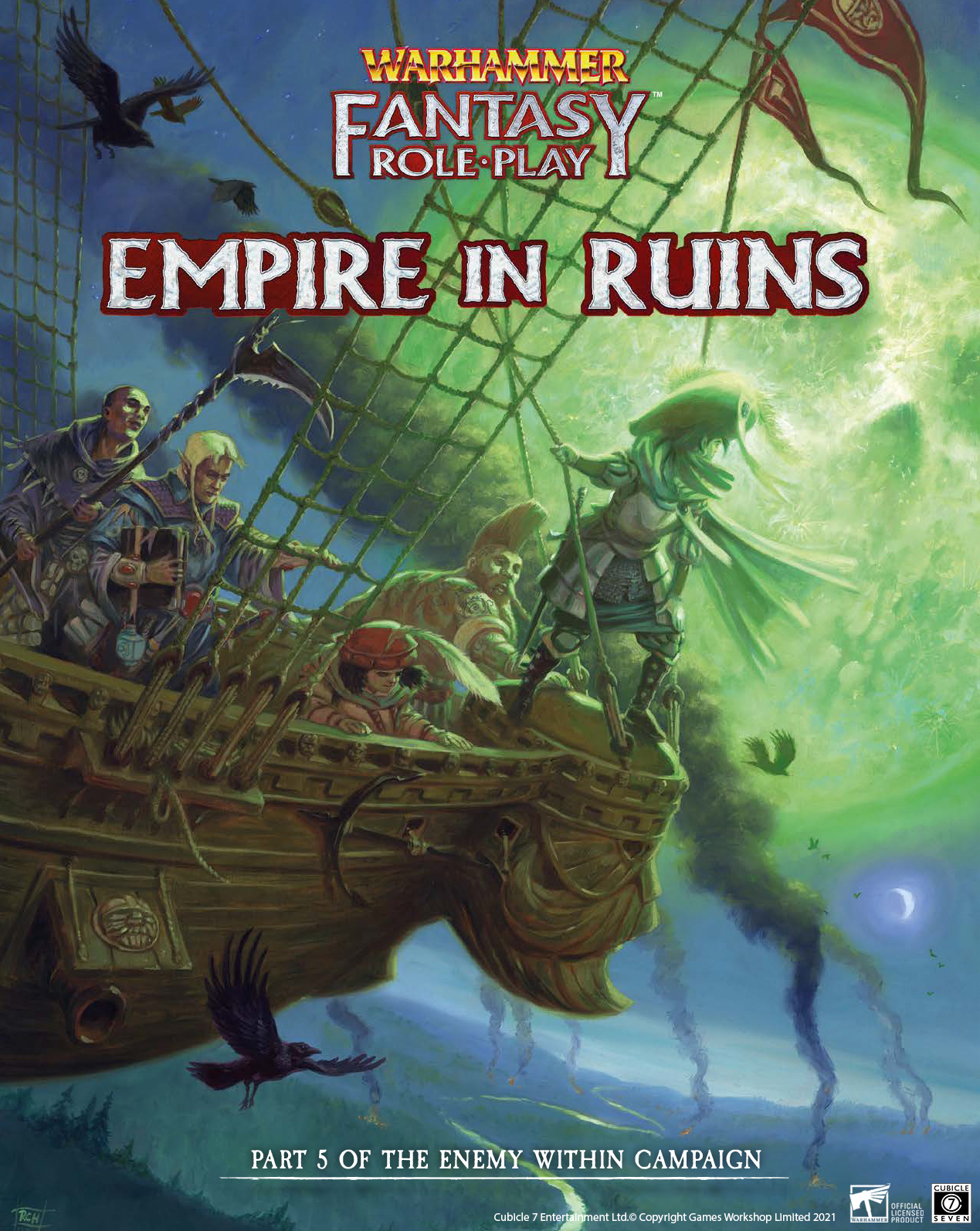 Empire In Ruins - Warhammer Fantasy Role-Play NEW