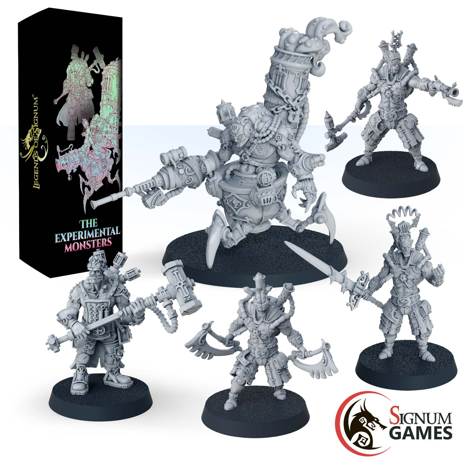 Experimental Monsters NEW - Signum Games