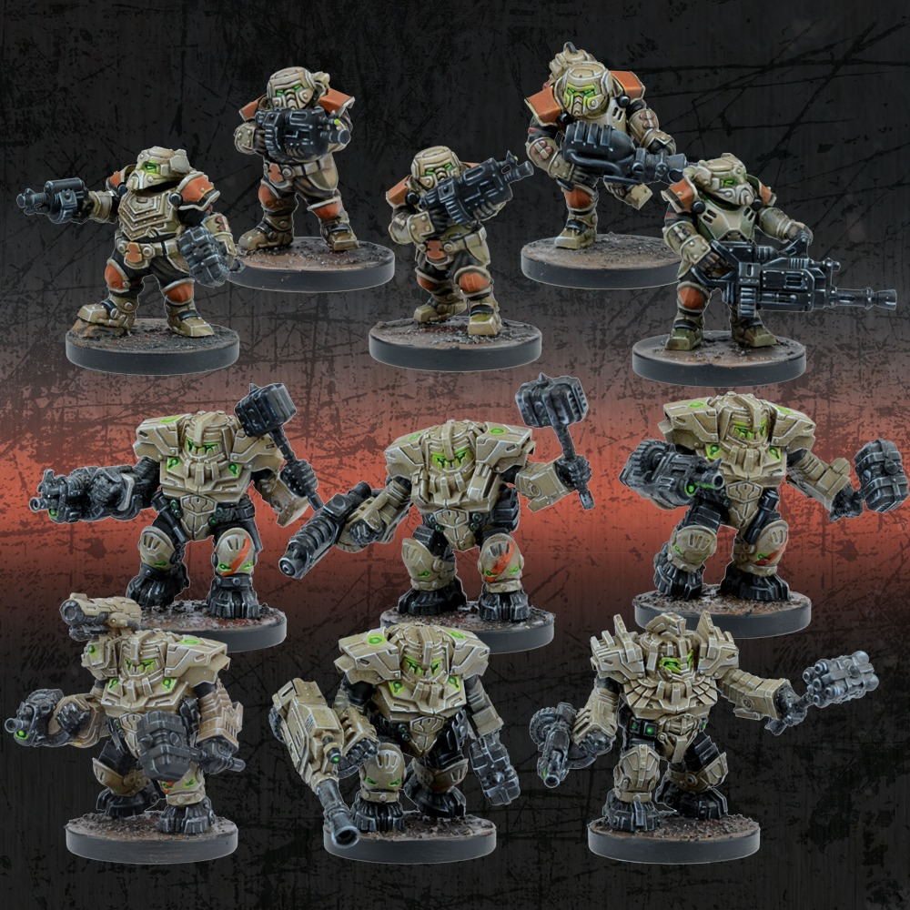 Forge Father Hold Warriors Starter - Mantic Games
