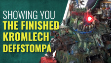 Painting Tips Perfect For ANY Ork Kit | Kromlech Deffstomper 40K Project