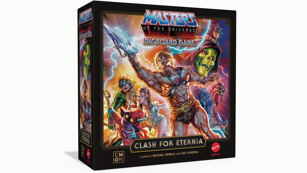 Masters Of The Universe The Board Game Clash For Eternia - CMON