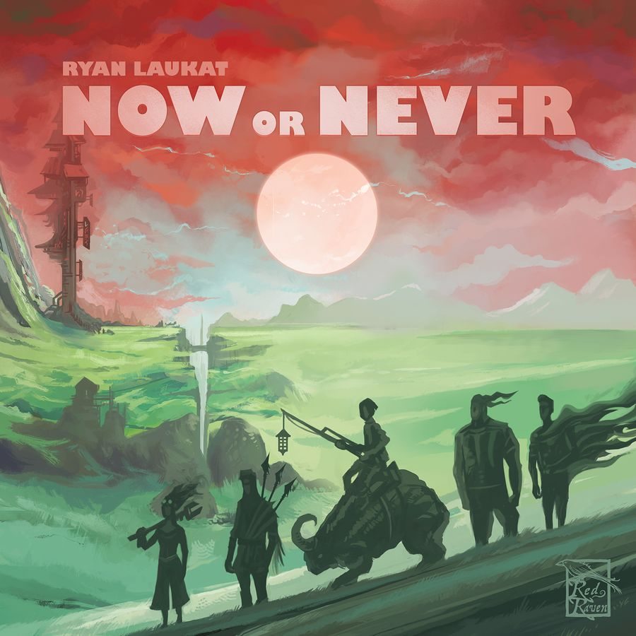 Now Or Never Cover - Red Raven Games