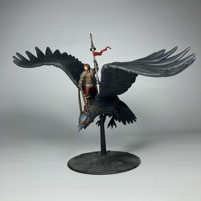 Raven Riders Painted Miniature - Dead Earth Games