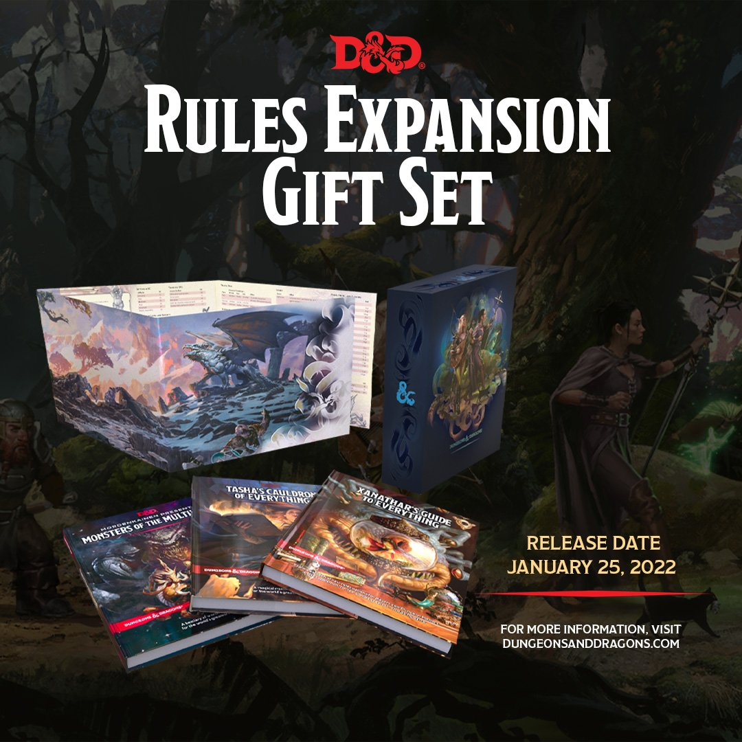 Rules Expansion Gift Set - Dungeons & Dragons
