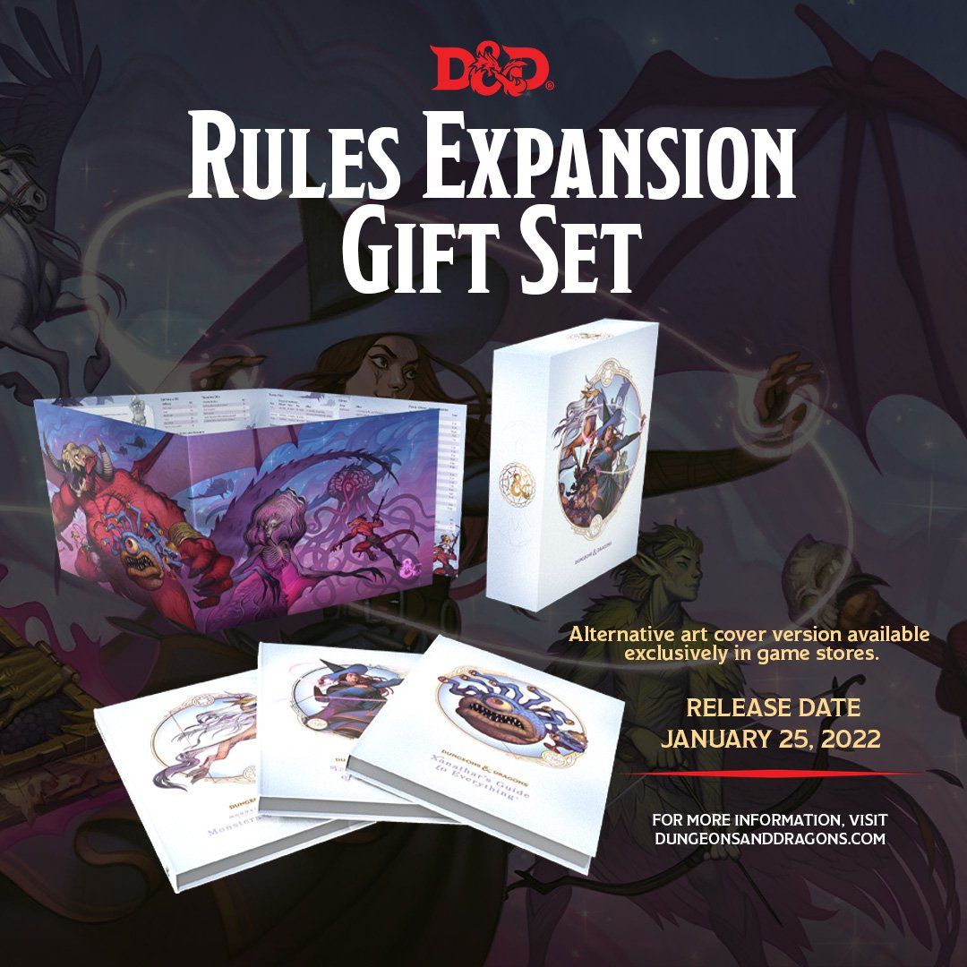 Rules Expansion Gift Set Limited Edition - Dungeons & Dragons