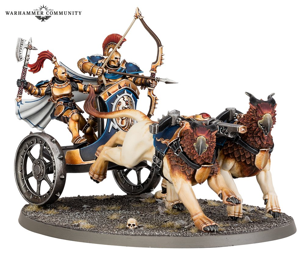 Stormstrike Chariot - Age Of Sigmar