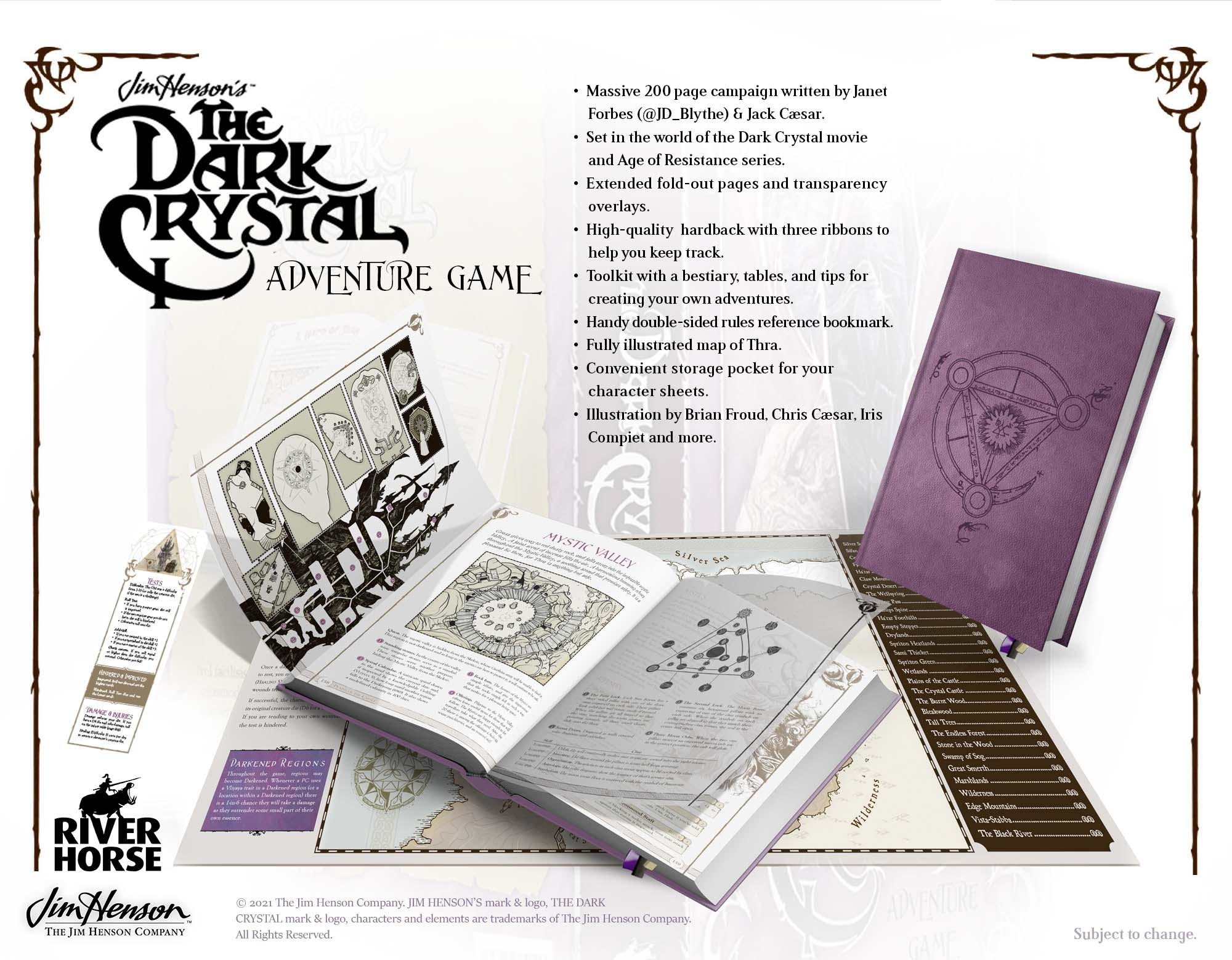The Dark Crystal Adventure Game - River Horse