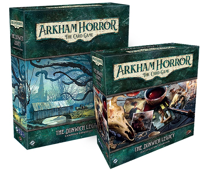 The Dunwich Legacy Expansions - Arkham Horror