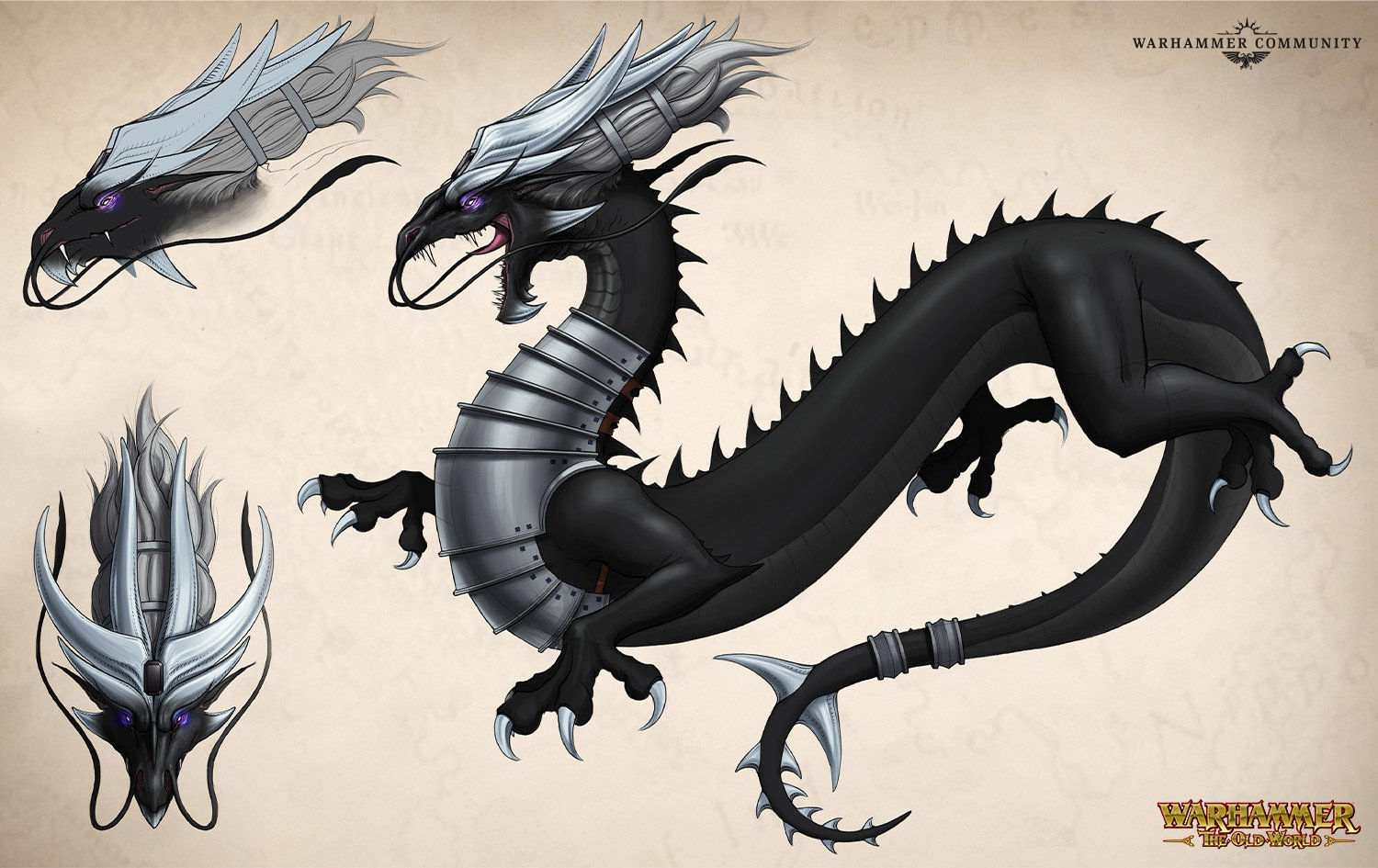 The Storm Dragon Miao Ying - Warhammer The Old World