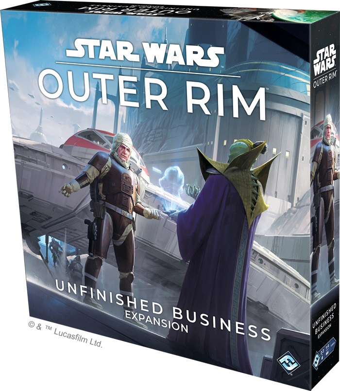 Unfinished Business Expansion - Star Wars Outer Rim