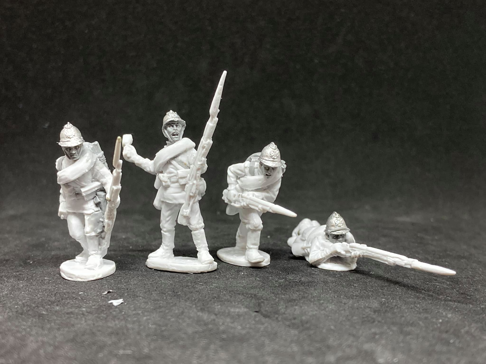 World War I Russian Imperial Infantry #1 - Empress Miniatures