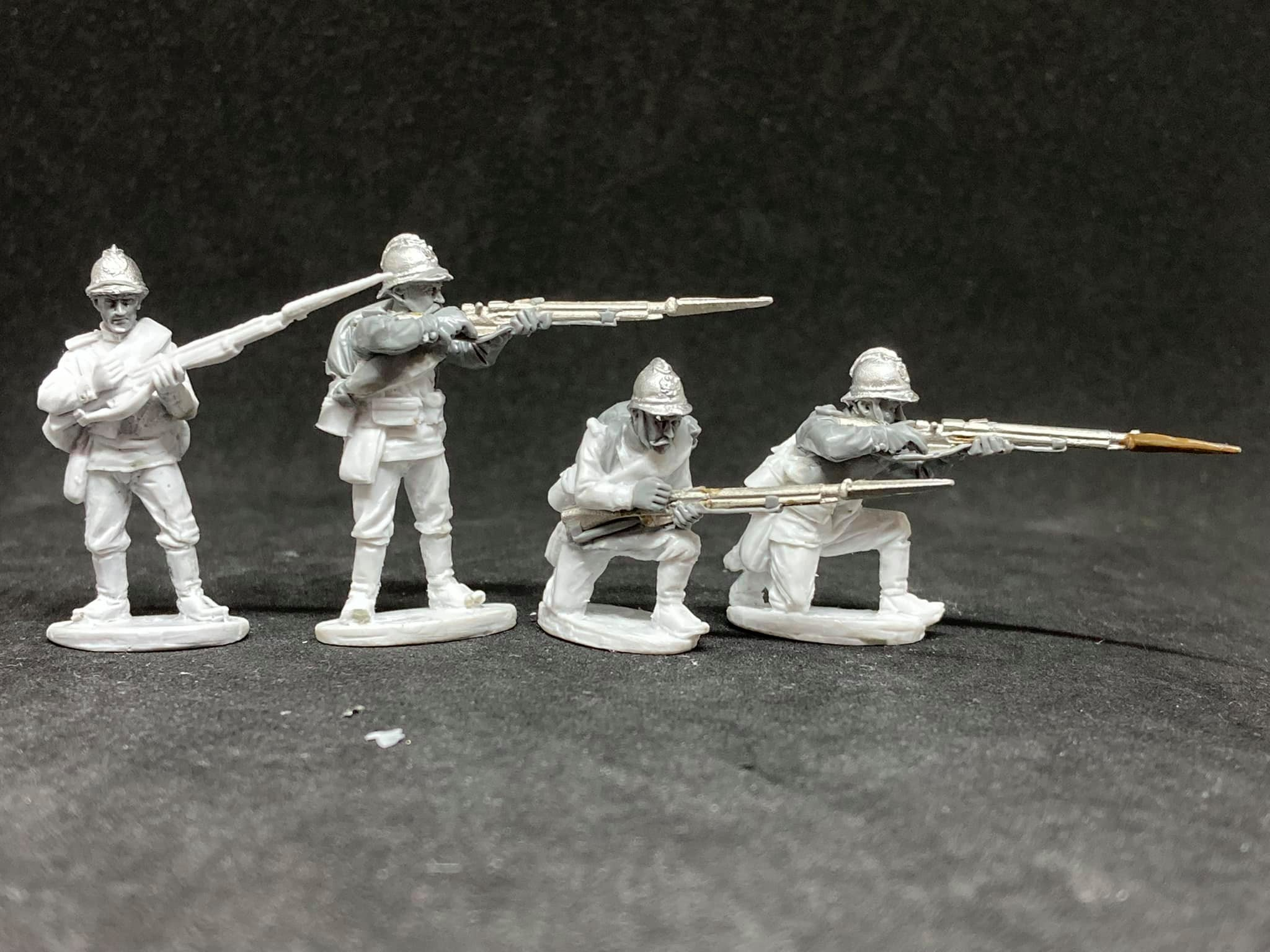 World War I Russian Imperial Infantry #2 - Empress Miniatures