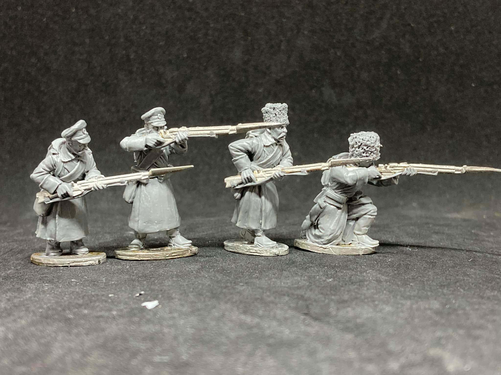 World War I Russian Imperial Infantry #3 - Empress Miniatures