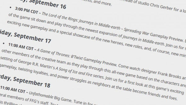 What Do Fantasy Flight Games Have Planned For Gen Con '21?