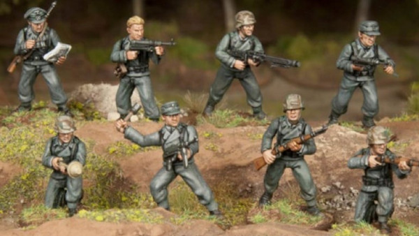 Panzer Lehr WWII Squads + Warring States From Wargames Atlantic!