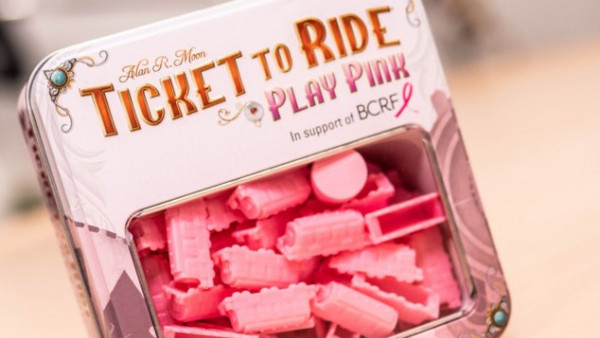 Ticket To Ride: Play Pink To Support Breast Cancer Awareness