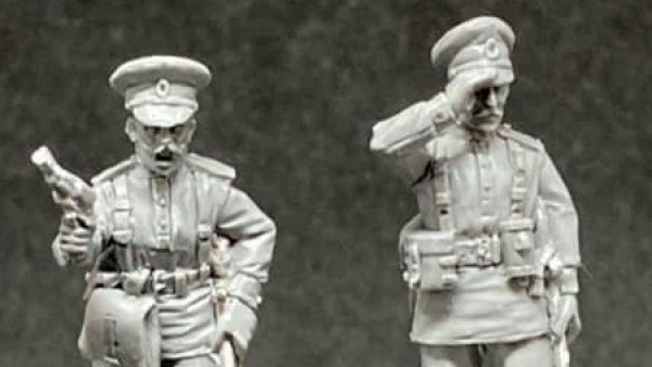 WWI Russian Officers Join Empress' OZ Club STP Collection