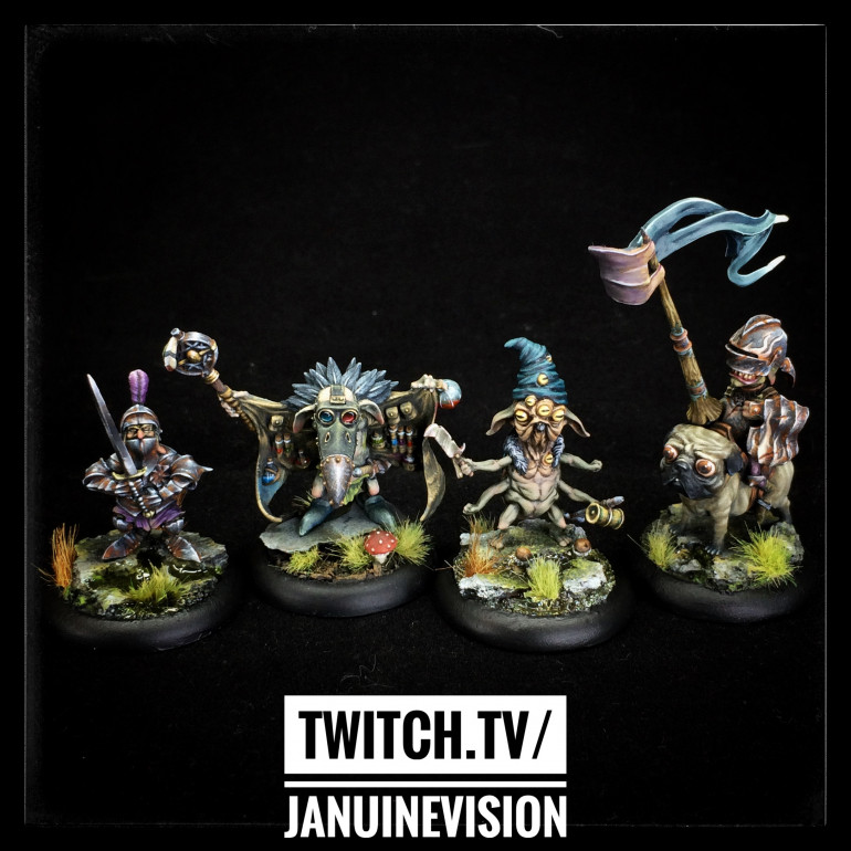 The New Dominion Half of the starter box all complete!!!