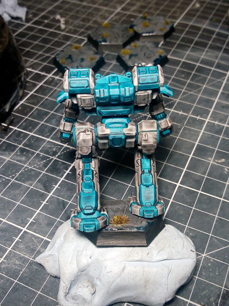 Fourth mech down, 4 more to go
