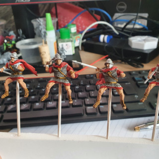 Adding a bit of colour - Contrast Blood Angels Red