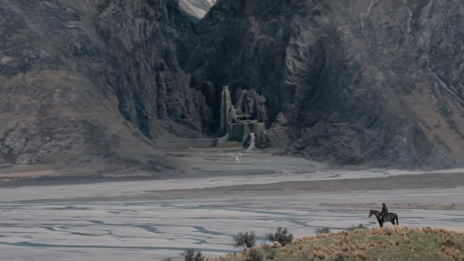 Helm deep from the lord of the ring