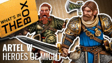 Unboxing: Heroes Of Might – Artel W Miniatures