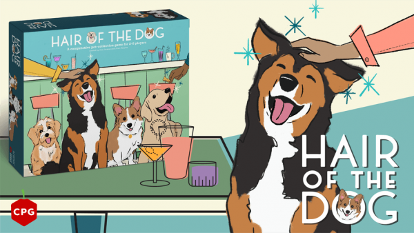 Pet All Of The Doggos To Win In Hair Of The Dog Kickstarter