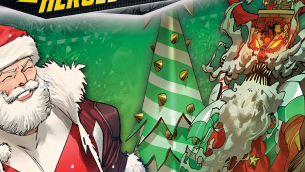 Santa & His Reindeer Zord Join The Power Rangers This Christmas!