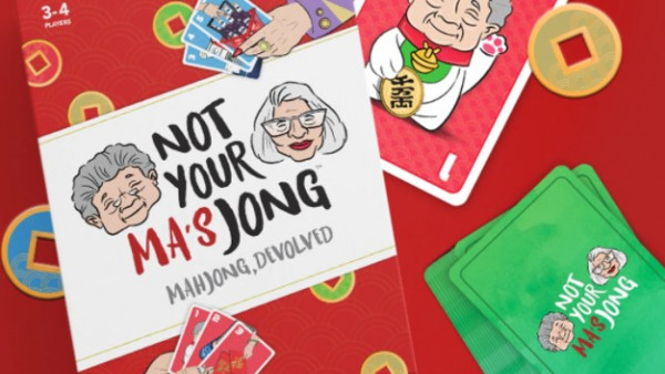 Mah Jong Gets A Card Game Update With Not Your Ma's Jong!