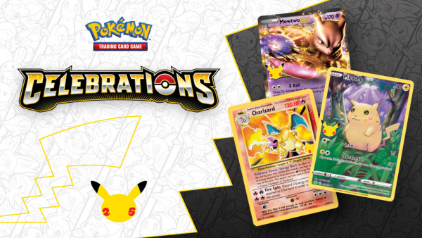 Iconic Cards & Pokemon Return For 25th Anniversary