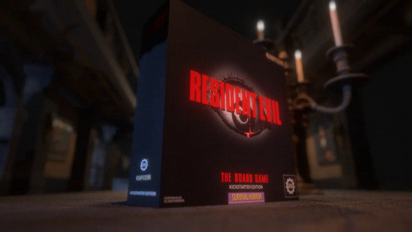 Explore The Spencer Mansion In Resident Evil: The Board Game