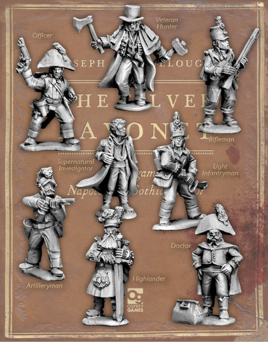 Silver Bayonet Wave #1 - North Star Military Figures