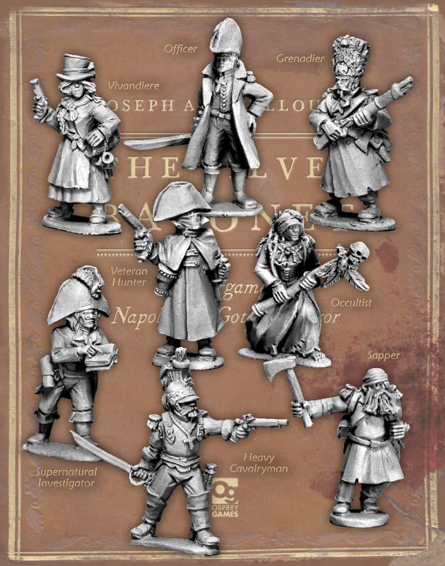 Silver Bayonet Wave #2 - North Star Military Figures