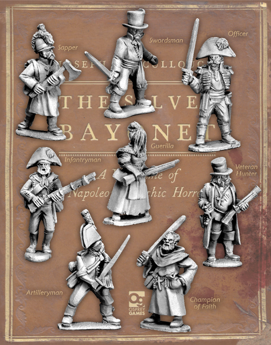 Silver Bayonet Wave #3 - North Star Military Figures