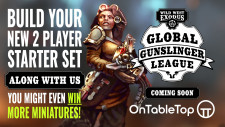 Sign-Up Now And Join The Wild West Exodus Global Gunslinger League!