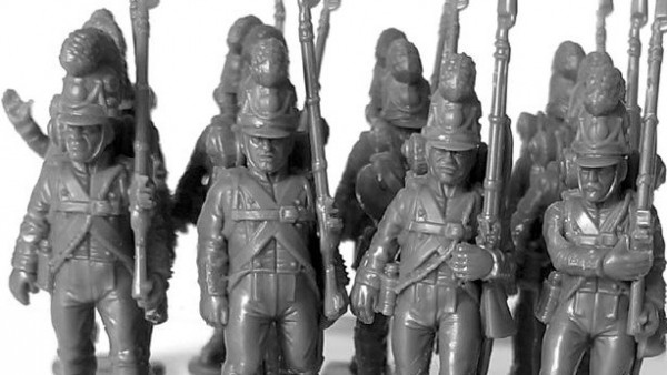 Bavarian Infantry Marching Forth From Victrix Soon