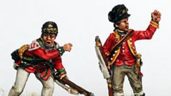 Light Infantry & Butler's Rangers Drop From Perry Miniatures