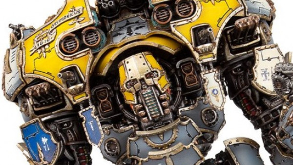 The Traitor Legios March Forth In Adeptus Titanicus With New Book