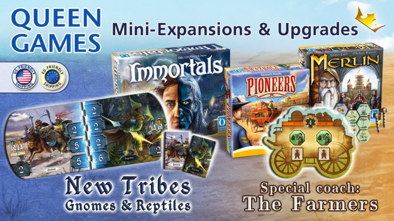 Queen Games - Mini Expansions & Upgrades