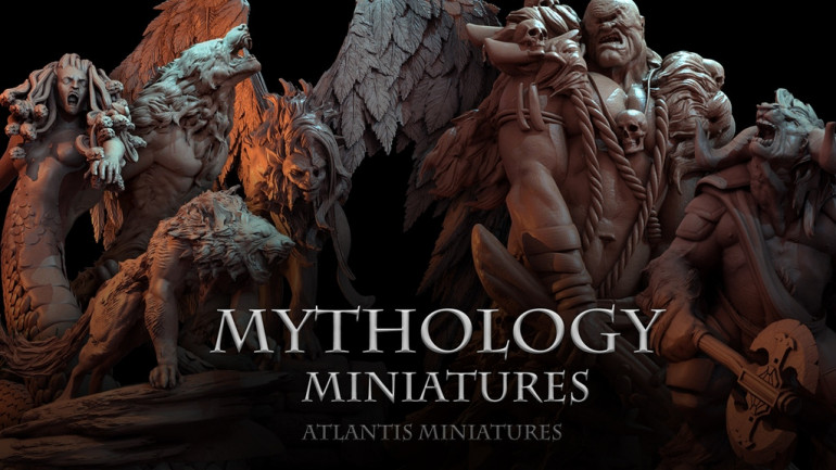 Atlantis Miniatures: Mythology