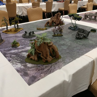 Some Of The Game Tables Available At CMON 2017