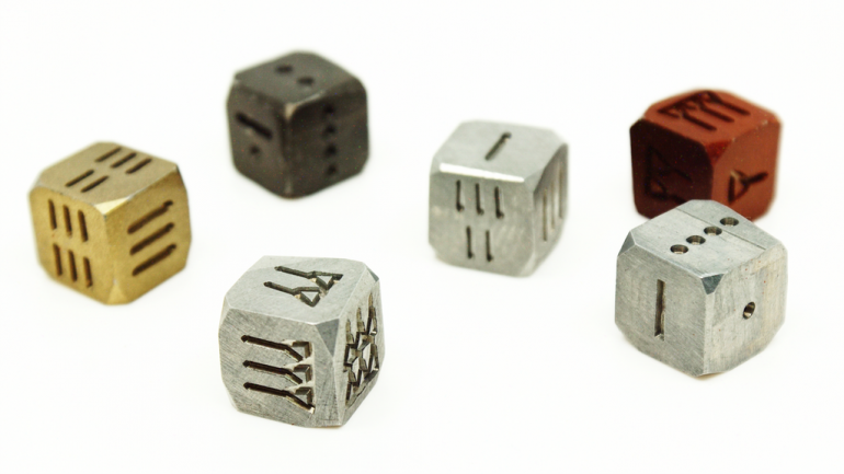 ANDice - The World's First Series of Ancient Numerical Dice