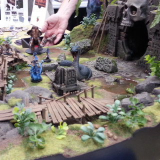 Pulposaurus Busy With Conan: Rise of Monsters
