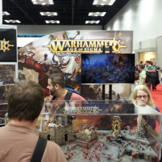 Age of Sigmar Stand Getting Lots of Attention