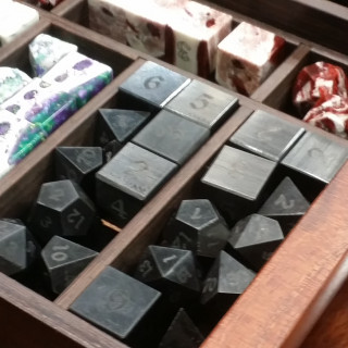 Custom Exotic Dice For The Gamer Who Has Everything