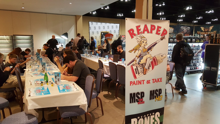 Reaper's Paint & Takemail Provides a Place To Hobby