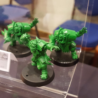 The Coloured Plastics For Blood Bowl